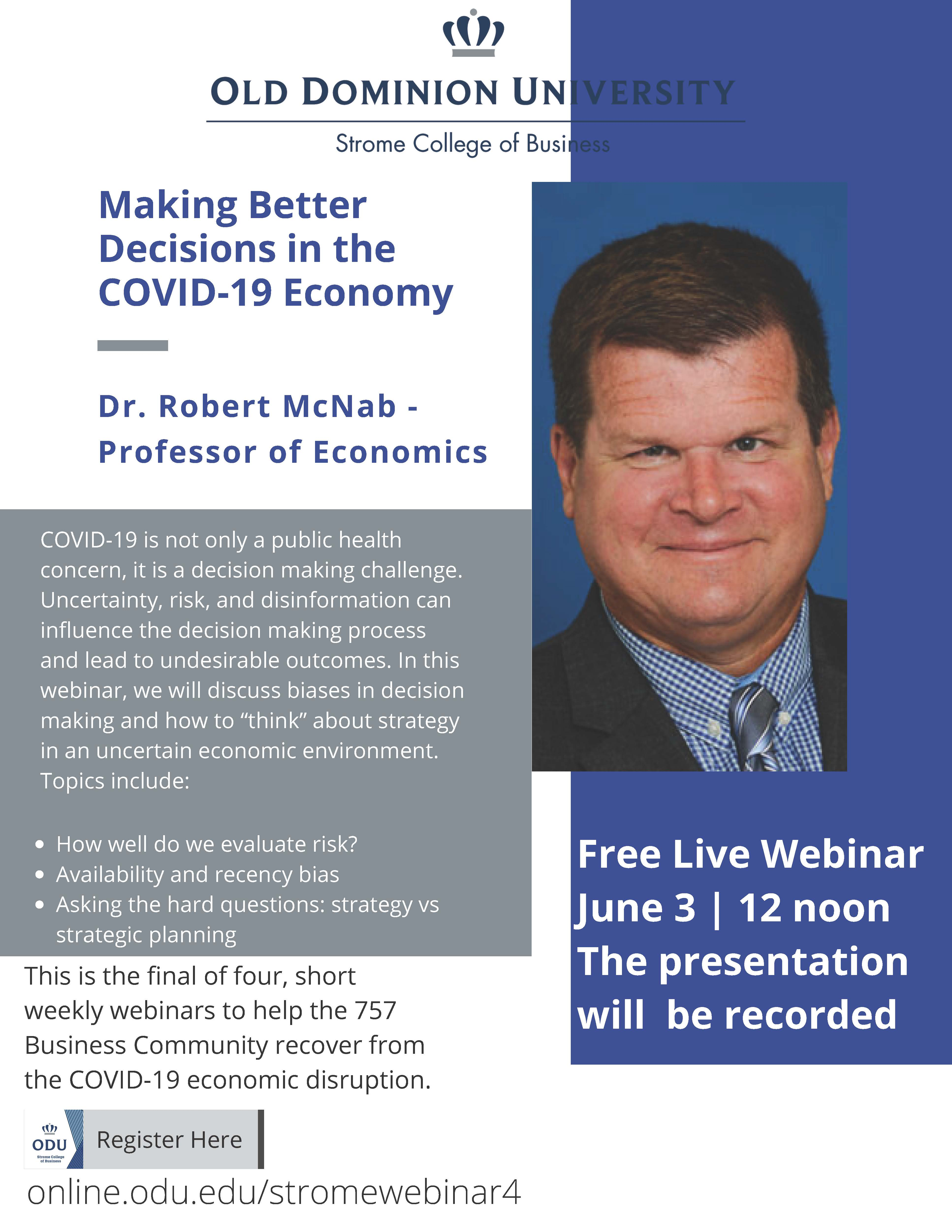 Strategy and Economic Tools for Covid-19 Recovery
